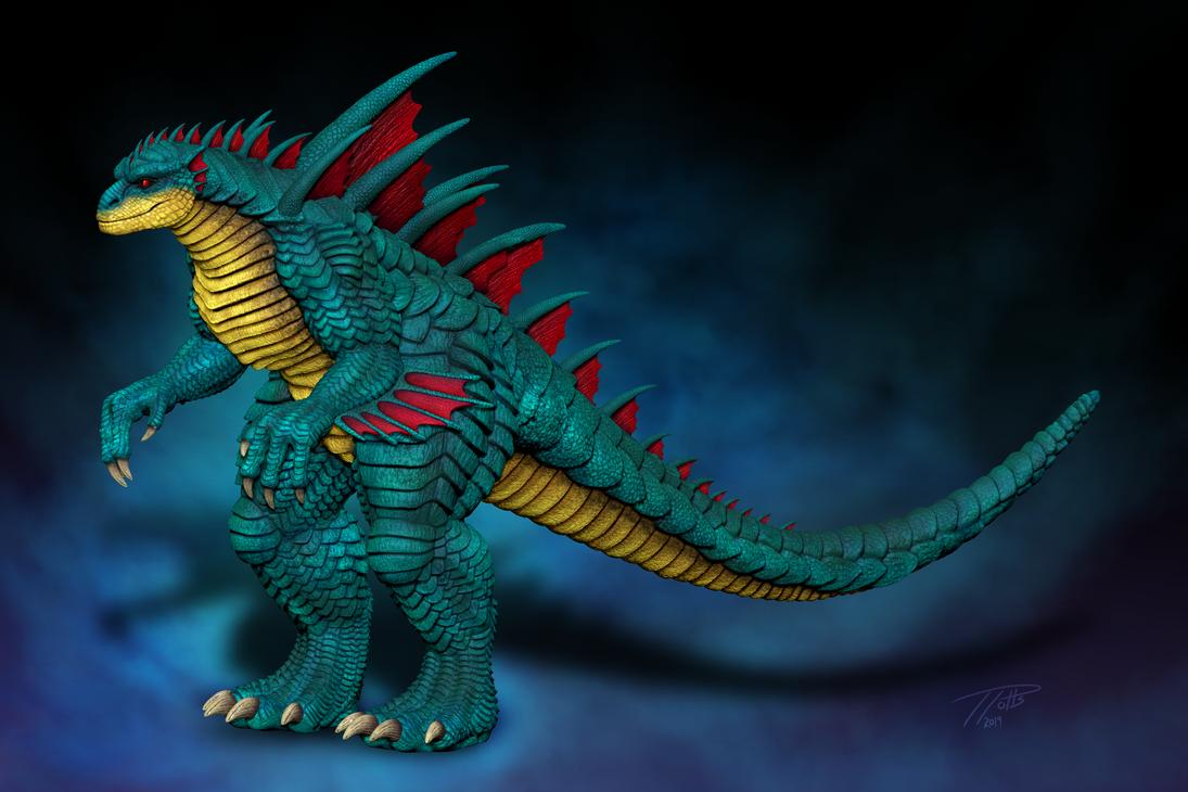Aqua Kaiju - Zbrush by DragonosX
