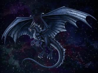 Rain Dragon by DragonosX