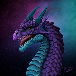 ZBrush Purple Dragon