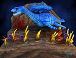 Jurassic Ocean Sculpture