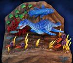 Jurassic Ocean Sculpture Revised
