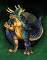KaiJune 1 - Ceracon the Triceratops