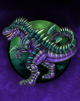 KaiJune 4 - Tyraxius the Tyrannosaurus
