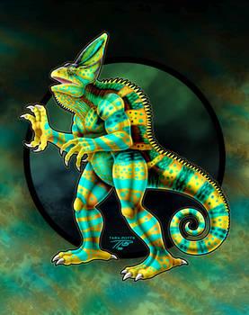 KaiJune 13 - Vhalius the Chameleon