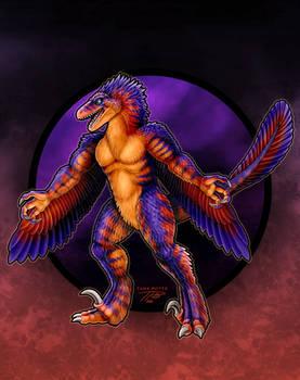 KaiJune 17 - Rapidius the Velociraptor