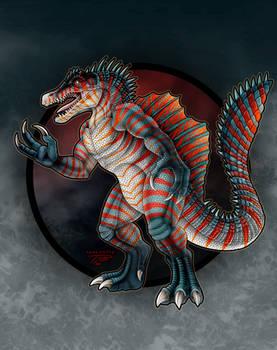 Kaijune 23 - Enygmala the Spinosaurus