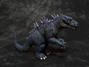 Baby Godzilla sculpt