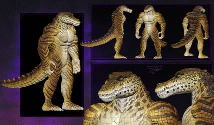 Zbrush - Anthro Croc