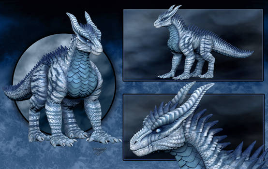Zbrush - Ice Dragon