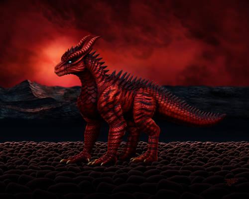 Zbrush - Scarlet Dragon