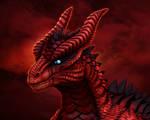 Zbrush - Red Dragon Portrait