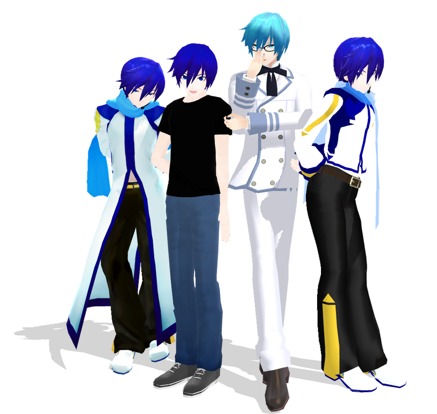 My Diva KAITO collection by CosmicKaito