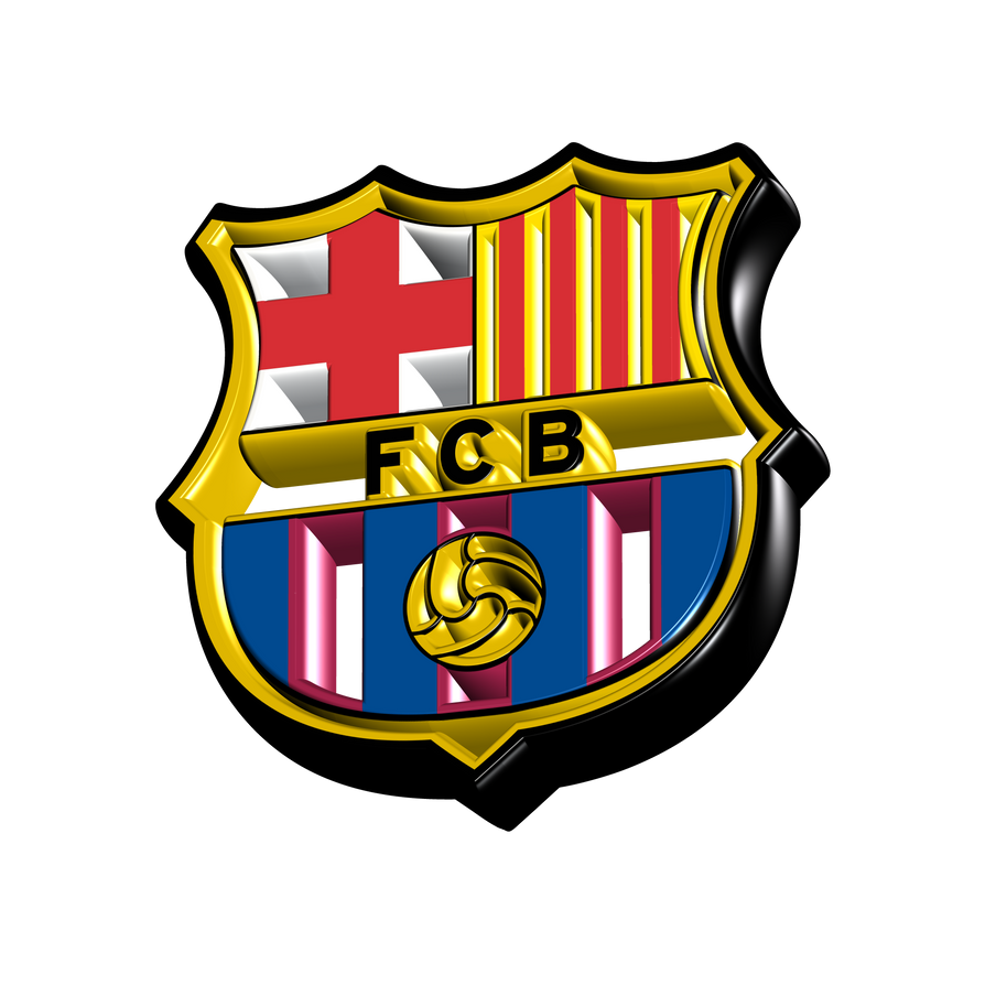 stickers sport décoration logos du FC Barca  stickersmania