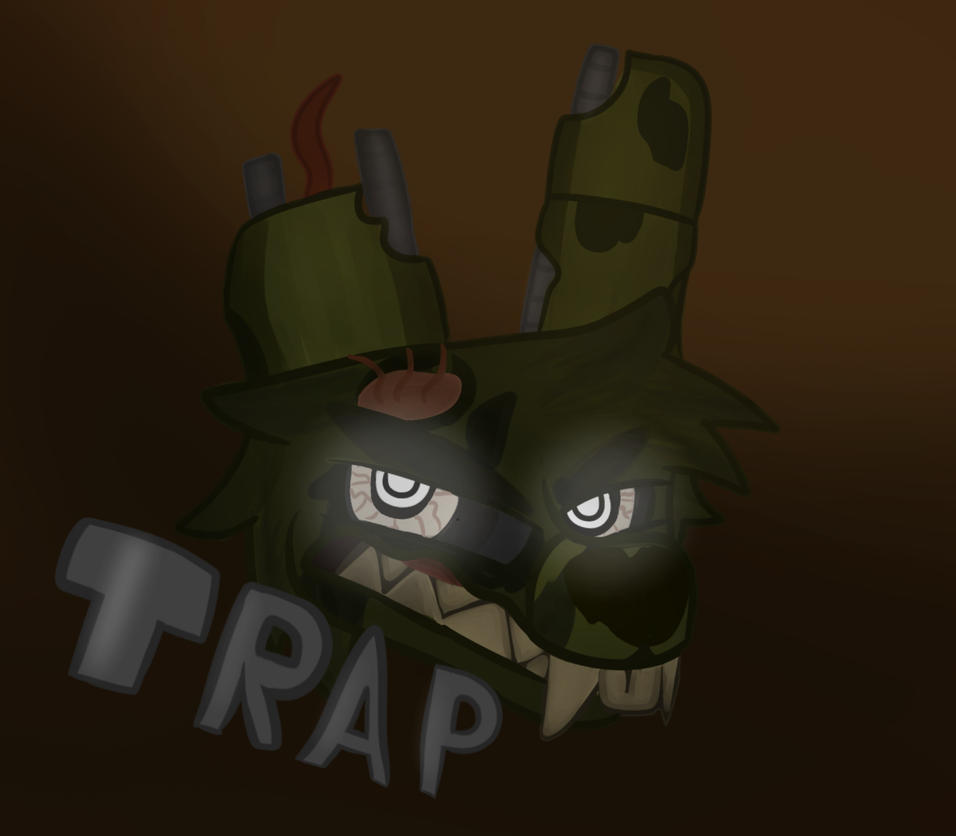 Springtrap painting thing by TheFoxDino