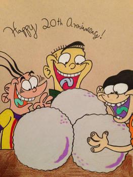 Happy Anniversary Ed Edd n Eddy! by lionandwolfe