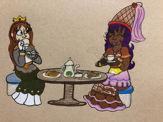 :AT: Royal Breakfast by lionandwolfe