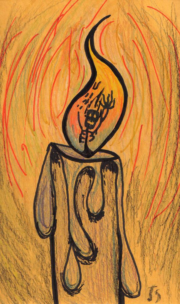 Burning Man by OhTheMintyFreshness