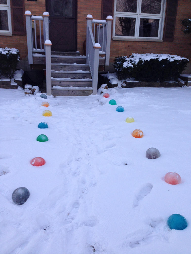 Frozen Water Marbles by GarnetTribal0