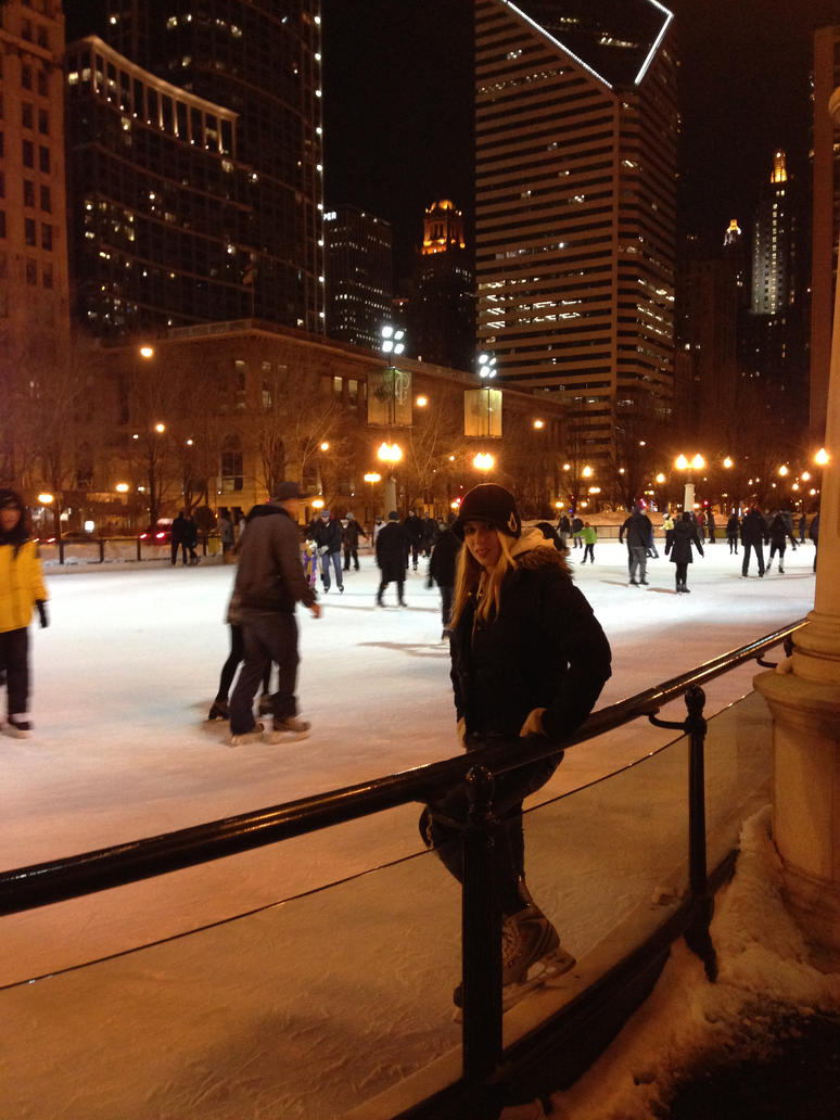 Birthday Skating Downtown by GarnetTribal0