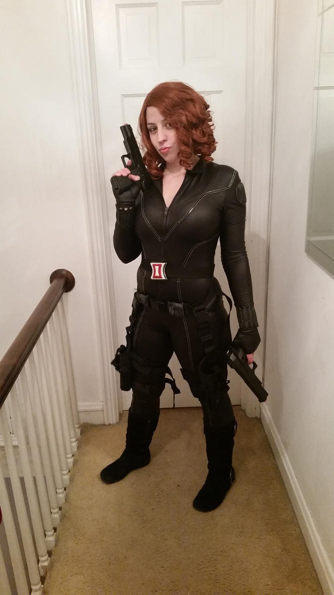 Black Widow by GarnetTribal0