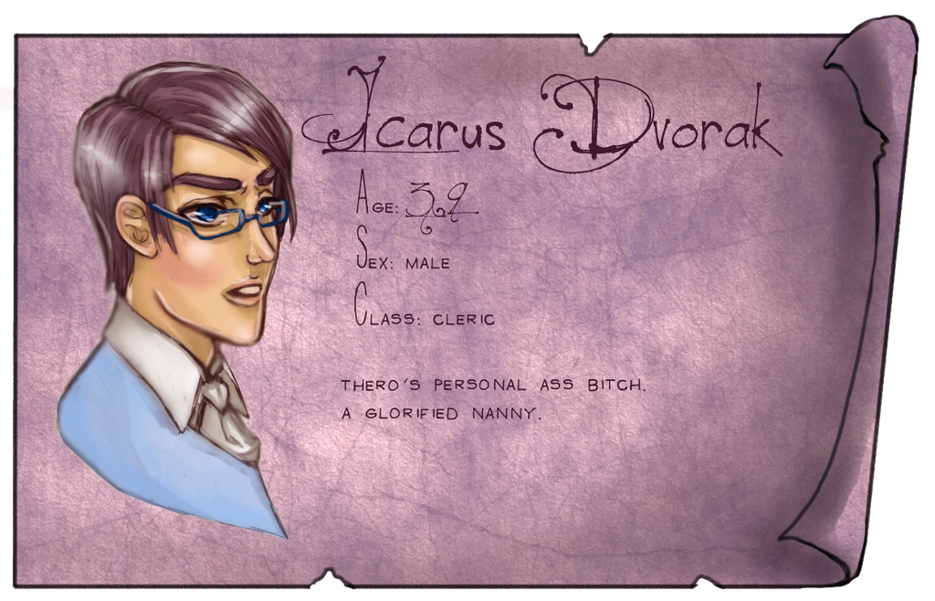 Coa Charater Name Plate Icarus by Lithiums-Rainbow