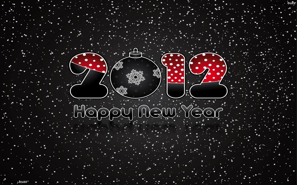 Happy New Year 2012-1440x900 by DarkEagle2011