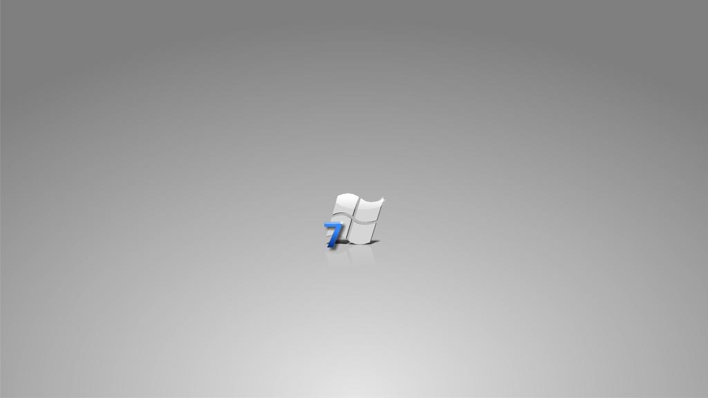 Windows 7   minimal by belh4wk by DarkEagle2011
