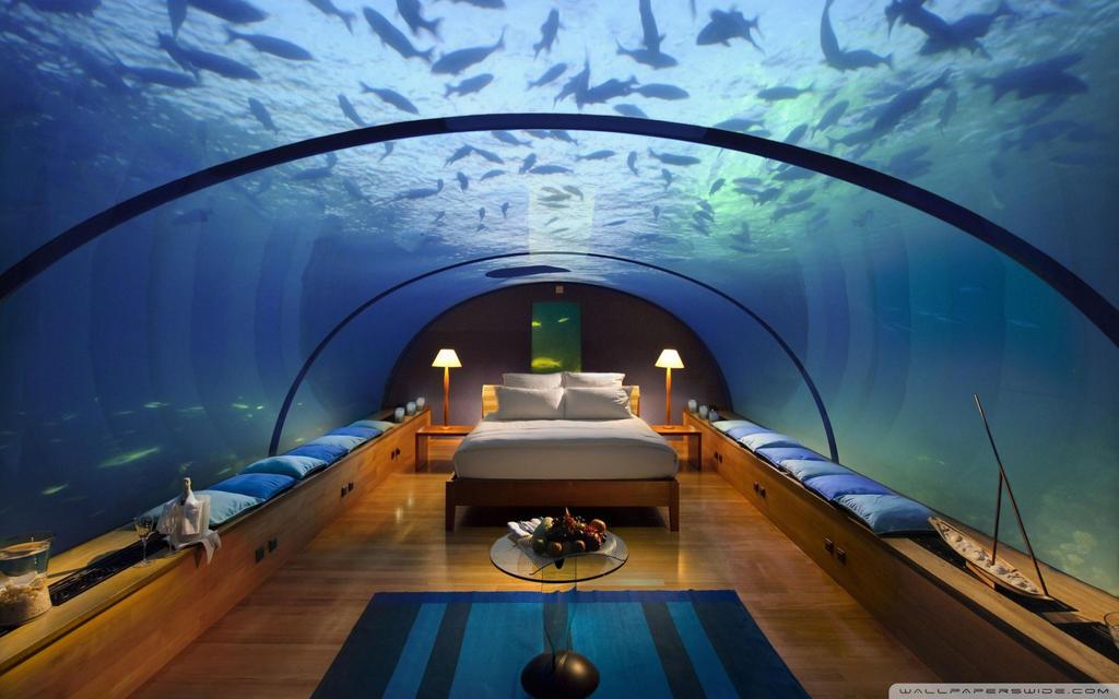 Underwater Bedroom-wallpaper-1920x1200 by DarkEagle2011