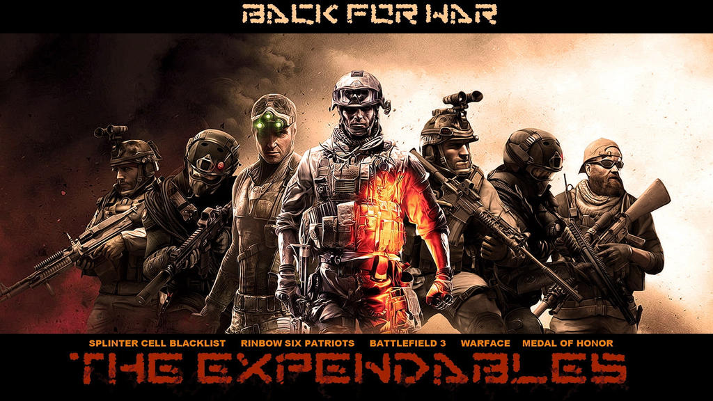 The Expendables Game Heroes-1920x1080 by DarkEagle2011