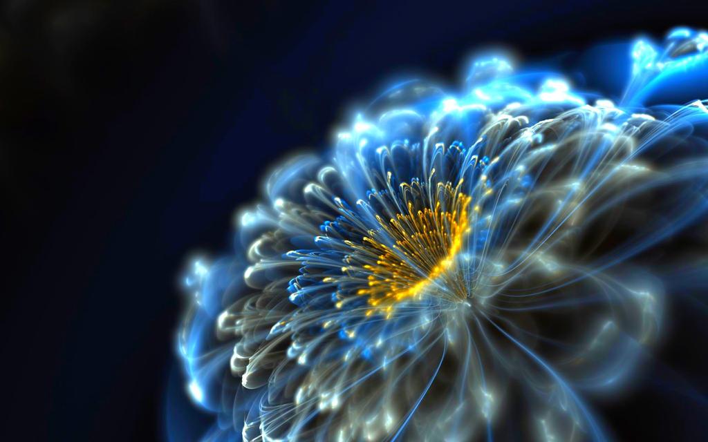 Neon-flower-221515 by DarkEagle2011