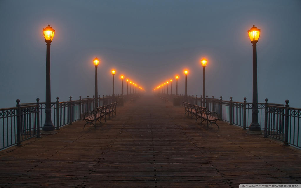 Foggy Pier-wallpaper-1920x1200 by DarkEagle2011