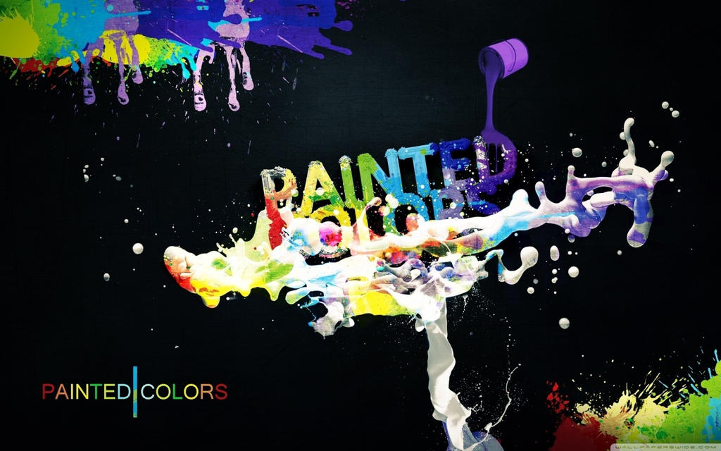 Colorful Paint-wallpaper-1440x900 by DarkEagle2011