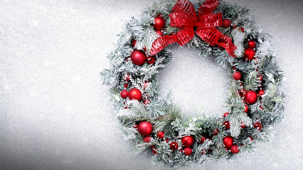 Wreath-Christmas-Festival-HD-Wallpaper-04773 by DarkEagle2011