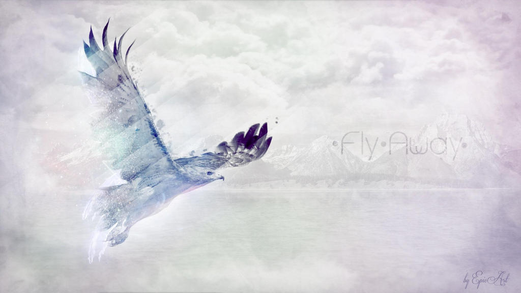 Light-water-eagles-fly-away-photo-manipulation-col by DarkEagle2011