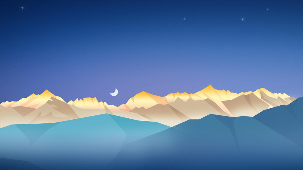 Half Moon Mountains-1920x1080 by DarkEagle2011