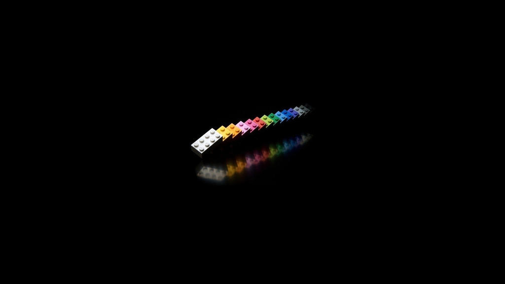 Color-3D-Black-Wallpaper by DarkEagle2011
