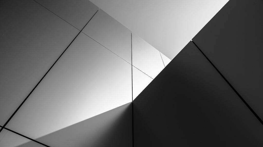 Buildings Wall Abstract Black White 1920x1080 by DarkEagle2011