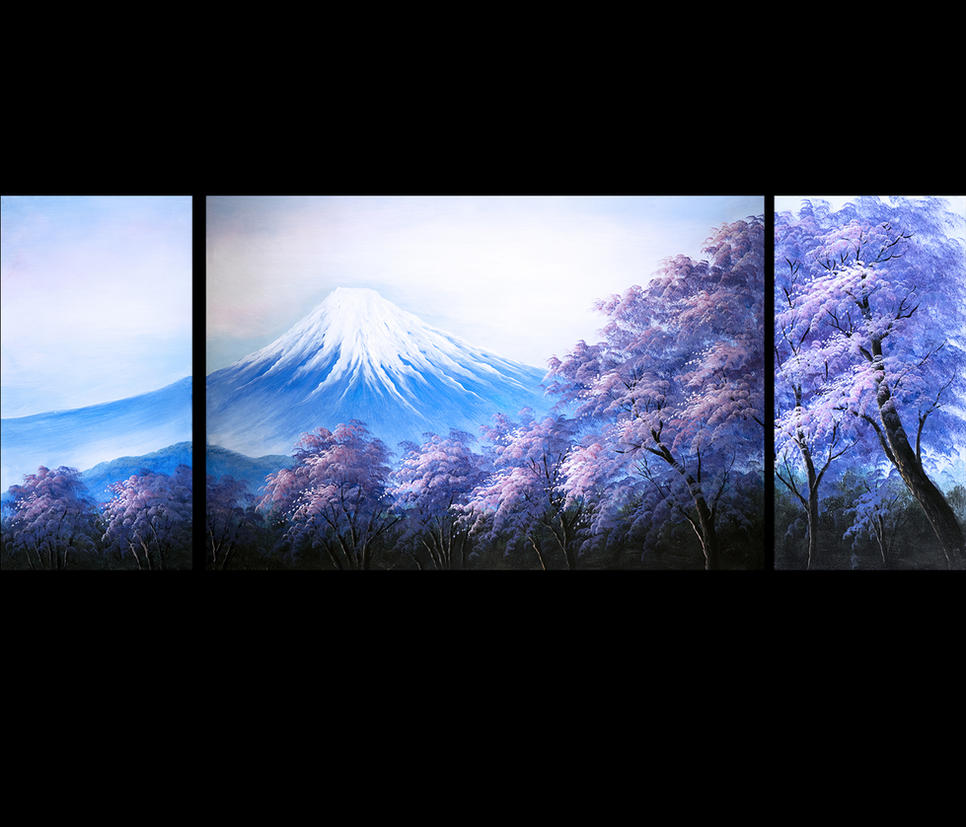 BOO4FAMDK6-Japanese-Cherry-Blossom-HUGE-Abstract-A by DarkEagle2011