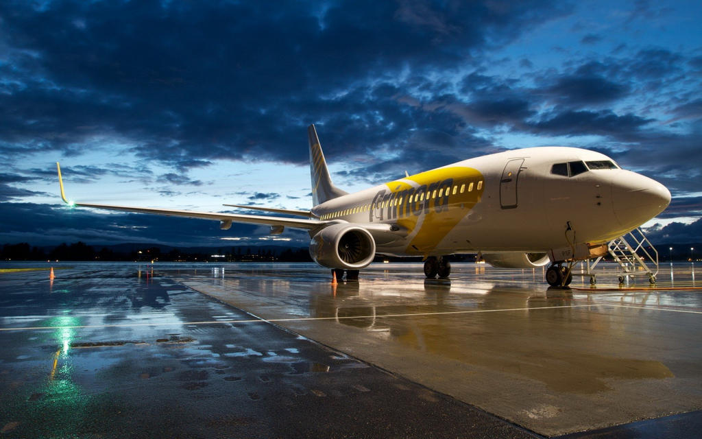 Boeing-737-aircraft-dark-night-wallpaper by DarkEagle2011
