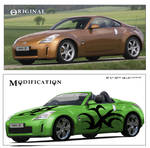 Nissan 350z To Convertable