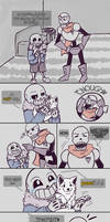 .Undertale Fancomic: Annoying Dog - Page 3.+