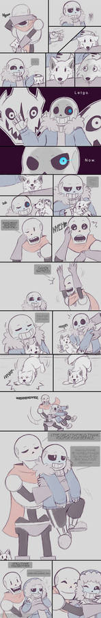.Undertale Fancomic: Annoying Dog - Page 7.+