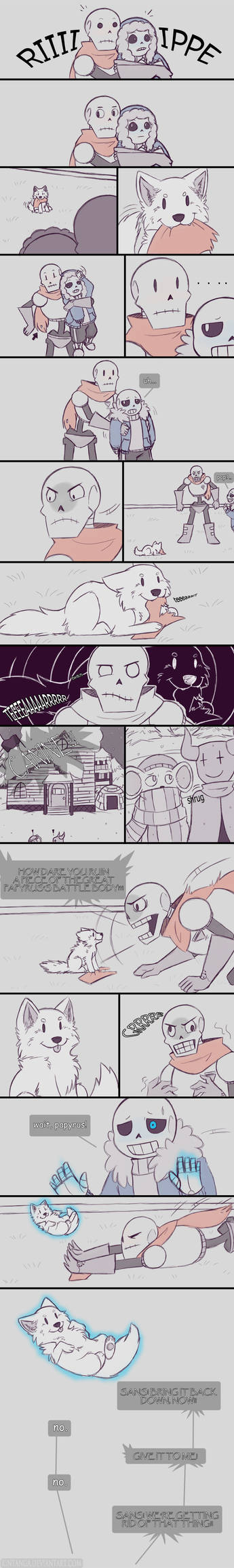 .Undertale Fancomic: Annoying Dog - Page 8.+
