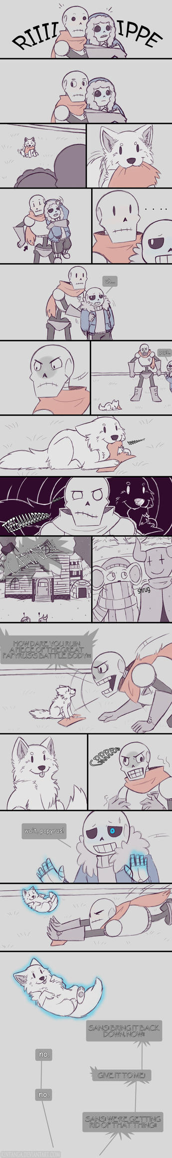 .Undertale Fancomic: Annoying Dog - Page 8.+ by Kintanga