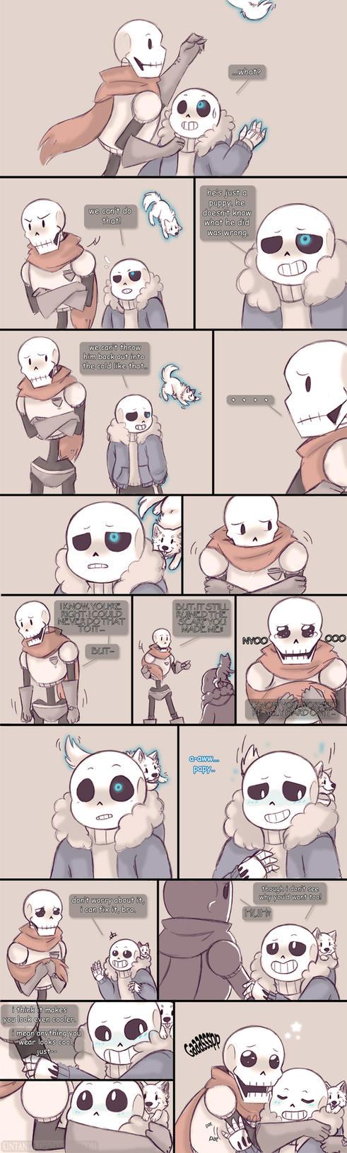 .Undertale Fancomic: Annoying Dog - Page 9.+ by Kintanga