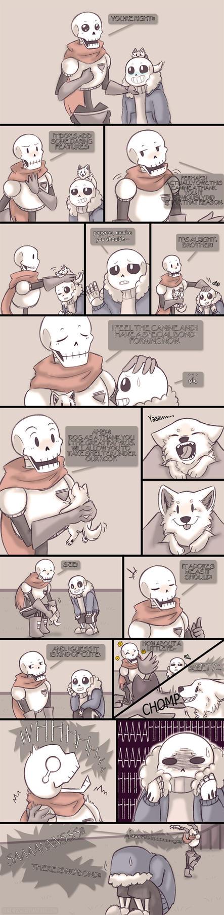 .Undertale Fancomic: Annoying Dog - Page 10.+ by Kintanga
