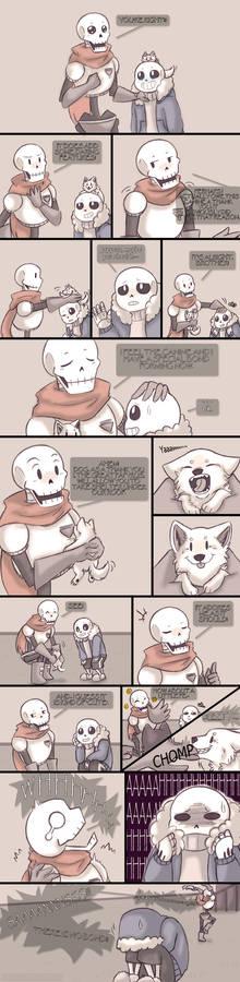 .Undertale Fancomic: Annoying Dog - Page 10.+