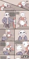.Undertale Fancomic: Annoying Dog - Page 12.+ by Kintanga