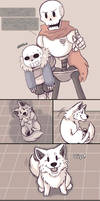 .Undertale Fancomic: Annoying Dog - Page 14.+
