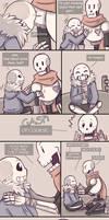 .Undertale Fancomic: Annoying Dog - Page 17.+ by Kintanga